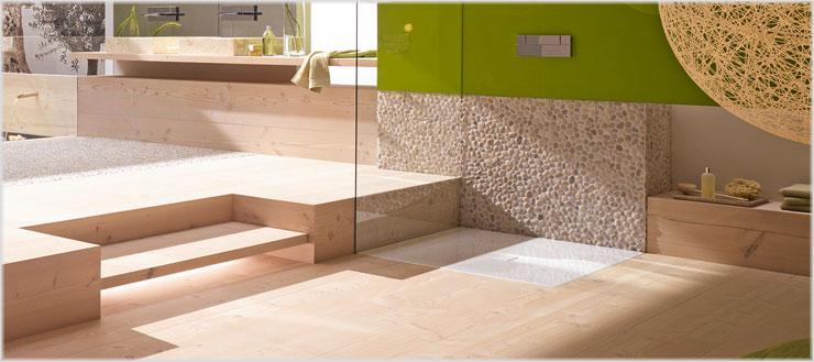 """Mit dem Modell """"Conoflat"""" von Kaldewei können Sie Ihre Duschlösung problemlos barrierefrei und stilvoll gestalten."""