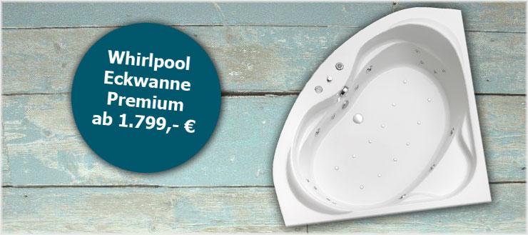 Whirlpool Ottofond Eckwanne Premium