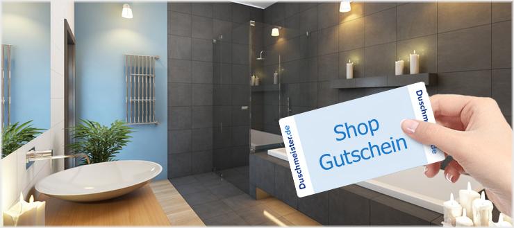 Wir zeigen Ihnen, wie Sie Ihren Duschmeister Shop-Gutschein einlösen können.