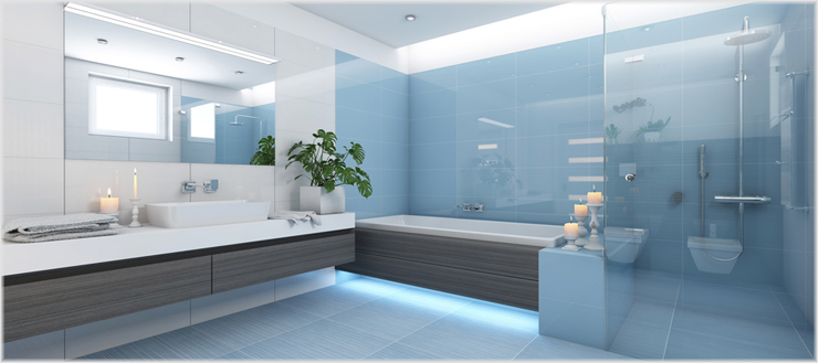 Wir zeigen Ihnen, wie Sie Ihr Bad vor Sauberkeit zum Glänzen bringen.