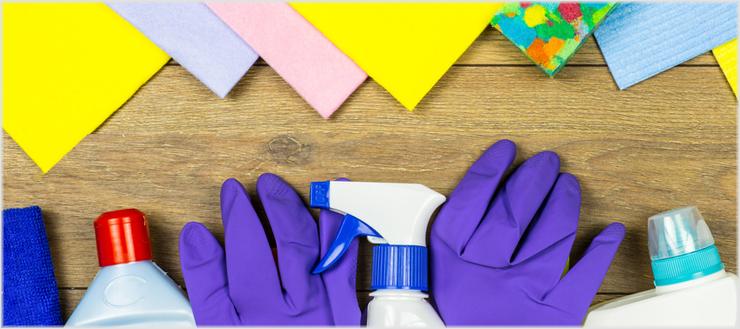 Bei uns erfahren Sie, welche Reinigungsmittel sich am besten zur Reinigung Ihres Badezimmers eignen.