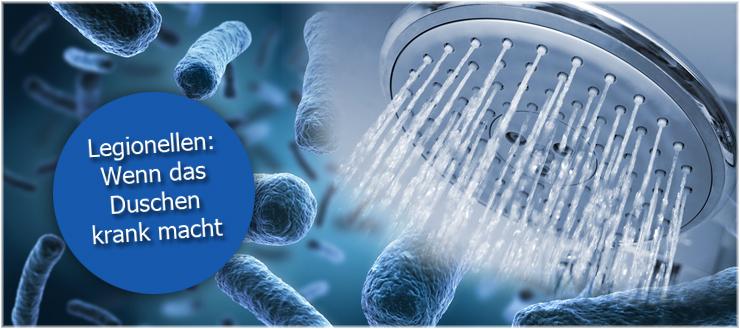 Duschen kann unter besonderen Umständen gesundheitsgefährdend sein. Der Grund: Legionellen.