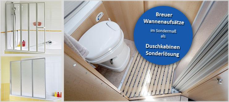Duschmeister macht's möglich! – Wir finden auch für die schwierigste Situation eine Lösung.