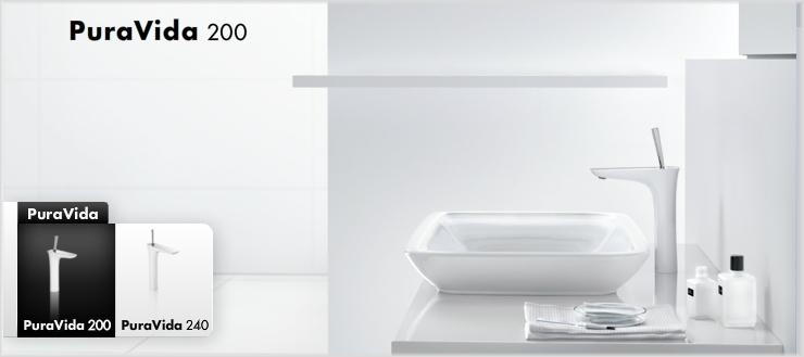 Auch bei uns im Shop: hansgrohe Pura Vida Einhebel-Waschtischmischer für nur 299,- Euro.