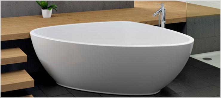 Egal ob gusseisern und emailliert oder zeitgemäß aus Acryl - Galatea produziert Badewannen für jeden Bedarf.