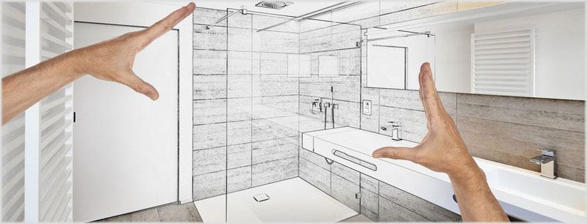 Unsere Fachmänner vermessen Ihre Einbausituation für nur 39,- Euro, damit Ihre neue Duschabtrennung perfekt passt.
