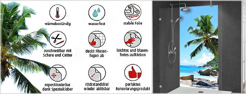 Die Folien von MySpotti haben viele Vorteile - nicht nur für die Montage im Badezimmer.
