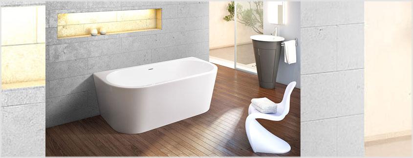 Die Badewannen von Ottofond vereinen Qualität mit günstigen Preisen und modernem Design.