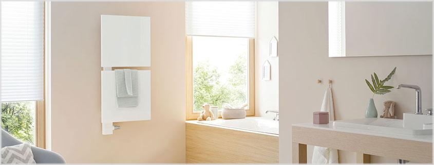 Bedenken Sie: Design ist nicht alles! Achten Sie in erster Linie auf die Heizleistung, damit Sie im Bad nicht frieren.