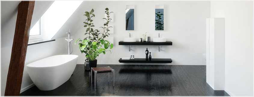 Natürlich soll das perfekte Bad nicht nur schön sondern auch pflegeleicht sein.