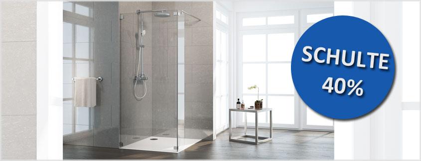 Sie liebäugeln mit einer neuen Duschkabine von Schulte? Dann nutzen Sie unseren Sommer Sale und sparen Sie bis zu 40%.