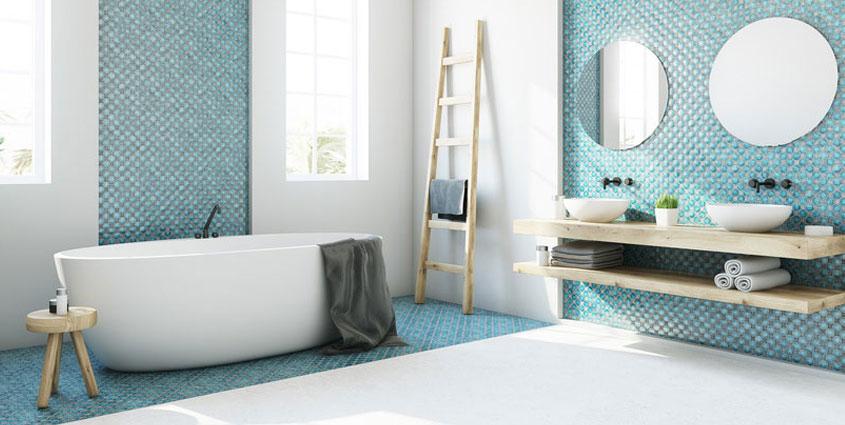 Mit etwas Farbe sieht Ihr Bad gleich ganz anders aus.
