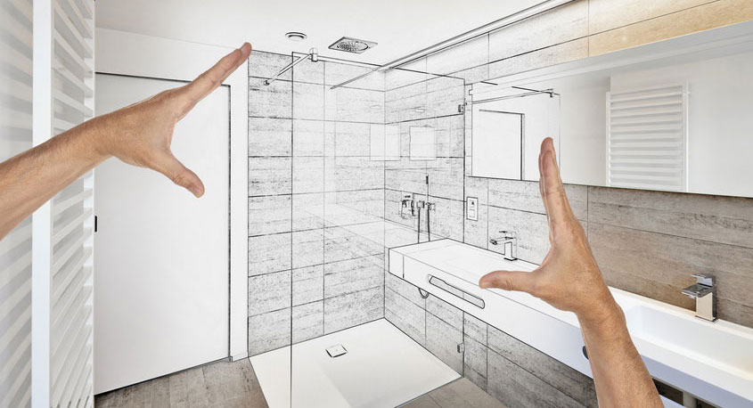 Es kann doch so schön einfach sein. Mit unserem Aufmaßservice wird die Duschkabinenplanung ein Klacks!
