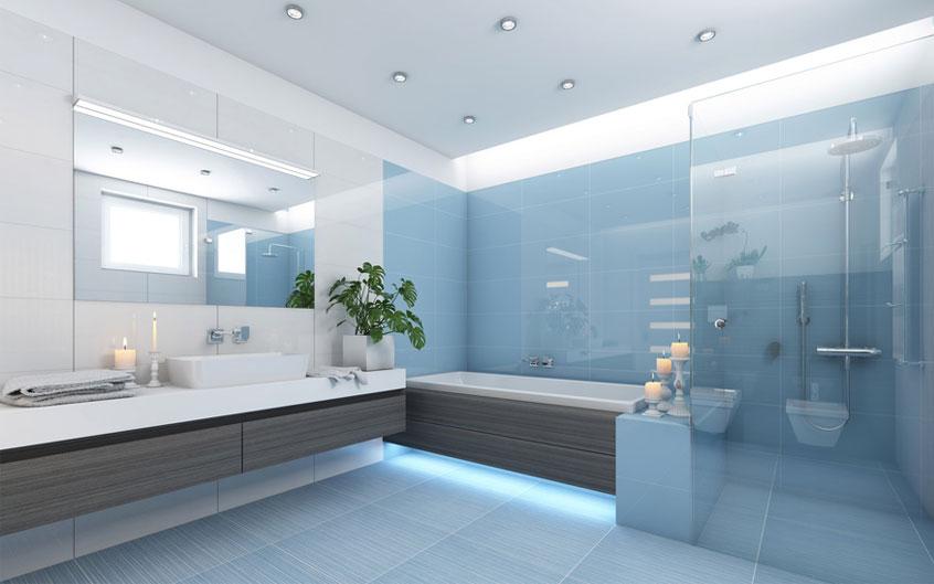 Ob nun im Bad, der Küche oder im Wohnzimmer. Eine durchdachte Beleuchtung erzeugt eine Wohlfühlatmosphäre, die zum Verweilen einlädt.
