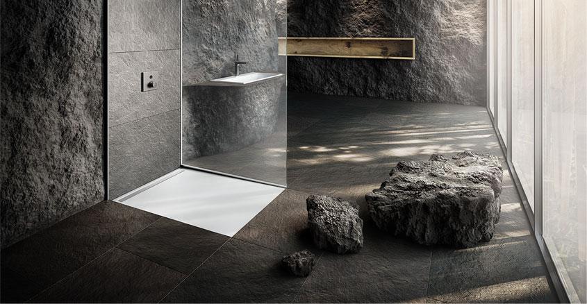 Kaldewei Duschwanne NEXSYS Absolut plane Fläche ohne Innenkonturen für eine großzügige Standfläche und eine harmonische Badgestaltung.