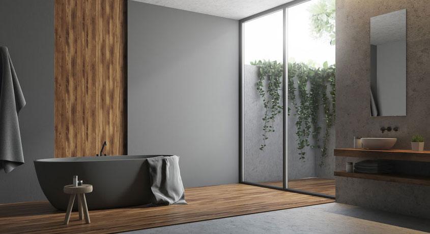 Kein Schmutz. Keine Fugen. Keine Fliesenspiegel. Mit Wandpaneelen verkleiden Sie Ihr Bad sauber und hygienisch.