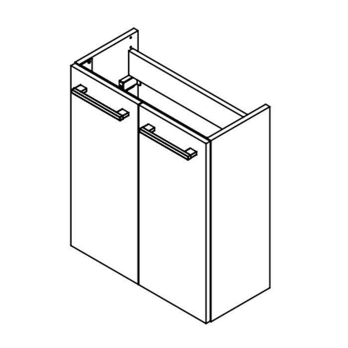 fackelmann lino waschtischunterbau 55 cm 8020x. Black Bedroom Furniture Sets. Home Design Ideas